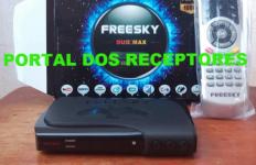 Atualização Freesky Duo Max HD Estabilizado