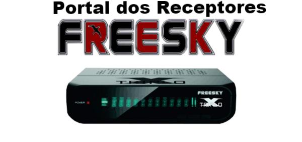 Atualização Freesky Triplo X HD SKS Ativado