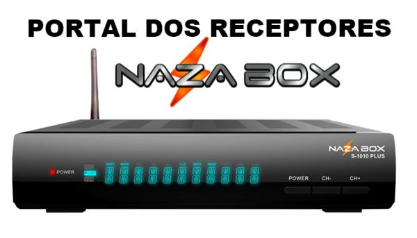Atualização Nazabox S1010 Plus HD Estabilizada