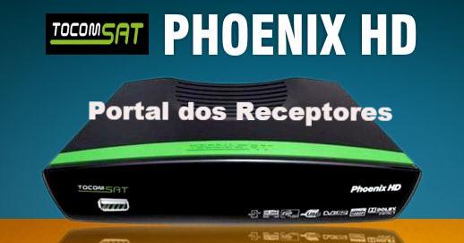 Baixe sua Atualização Tocomsat Phoenix HD
