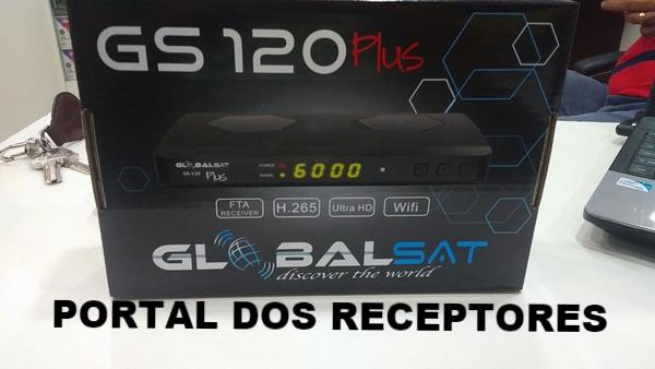 Baixar nova Atualização Globalsat GS120 Plus