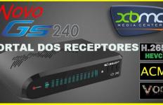 Liberada nova Atualização Globalsat GS240 HD