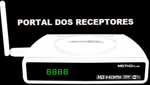 Atualização Megabox MG7 HD Plus corrigindo canais