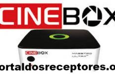 Baixar sua Atualização Cinebox Maestro Ultra+