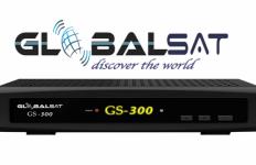 Baixar nova Atualização Globalsat GS300 HD