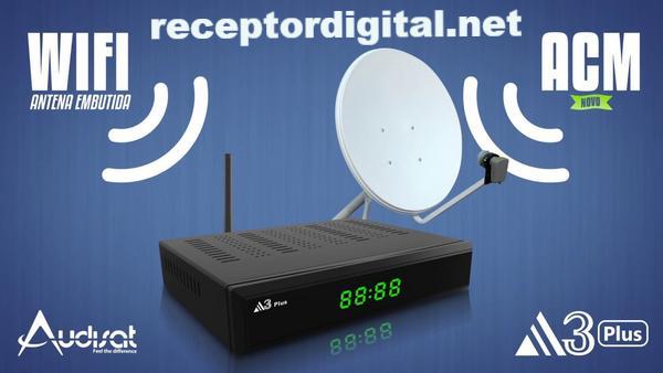 Baixar Nova Atualização Audisat A3 Plus