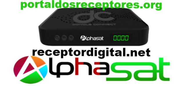 Atualização Alphasat DC Dongle Connect