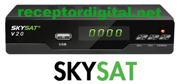 Atualização Skysat V20 Mini