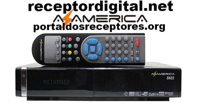 Baixar Atualização Azamerica S922 HD Liberada