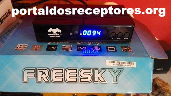 Baixar Atualização Freesky Mini Voyager