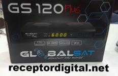 Atualização Globalsat GS120 Plus Estabilizada