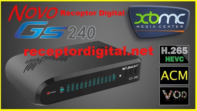 Liberada nova Atualização Globalsat GS240
