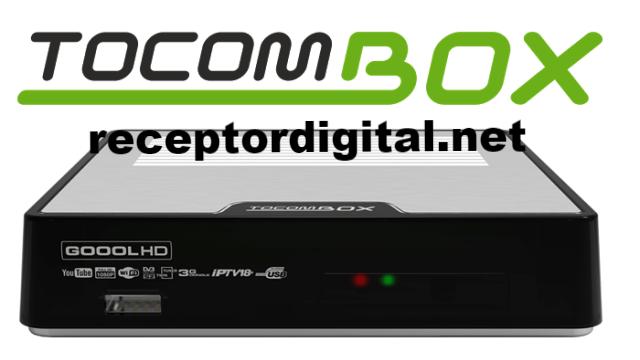Liberada Atualização Tocombox Goool HD