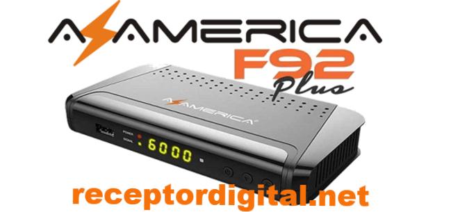 Nova Atualização Azamerica F92 Plus