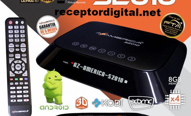 Baixar sua Atualização Azamerica S2010 Android