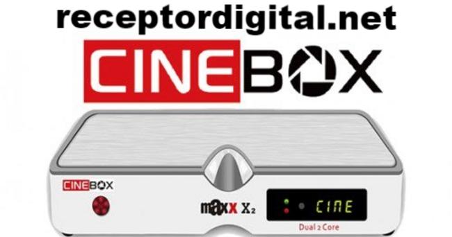 Baixar nova Atualização Cinebox Fantasia Maxx X2