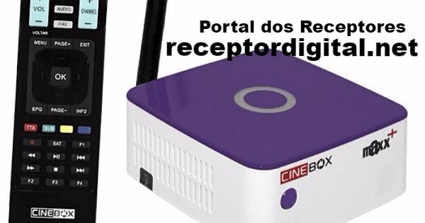 Liberada Nova Atualização Cinebox Maxx+