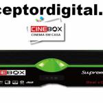 Nova Atualização Cinebox Supremo X