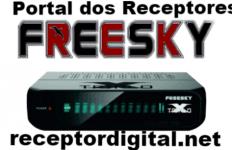 Nova Atualização Freesky Triplo X