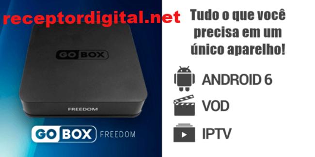 Liberada nova Atualização Gobox Freedom