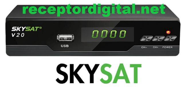 Liberada sua Atualização Skysat V20