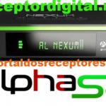 Baixar nova Atualização Alphasat Nexum