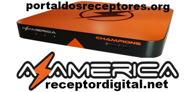 Atualização Azamerica Champions IPTV Android