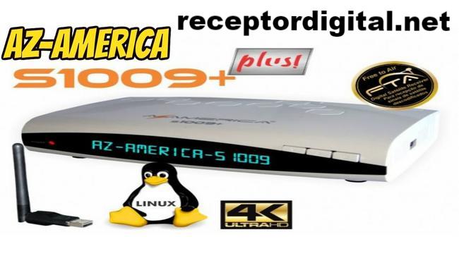 Baixar Atualização Azamerica S1009+ Plus HD