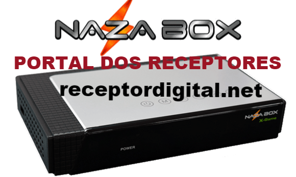 Atualização Nazabox X Game liberada