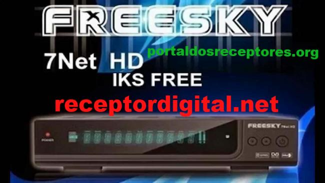 Baixar nova Atualização Freesky 7 Net HD