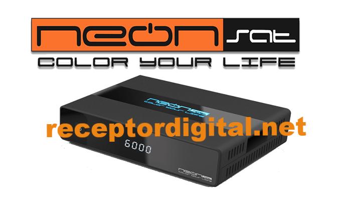 Atualização Neonsat Colors Tron