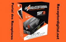 Atualização Azamerica ST3 4K