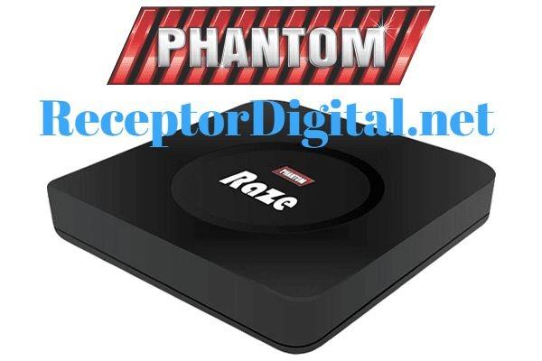 Nova Atualização Phantom Raze IPTV Liberada