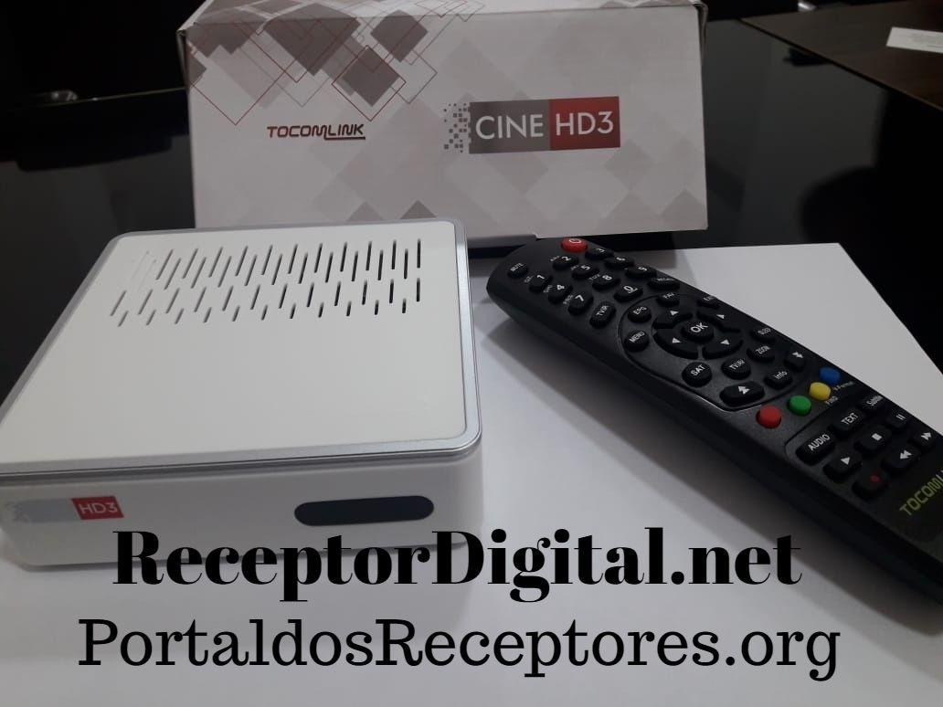 Liberada nova Atualização Tocomlink Cine HD 3