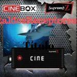 Atualização Cinebox Supremo Z