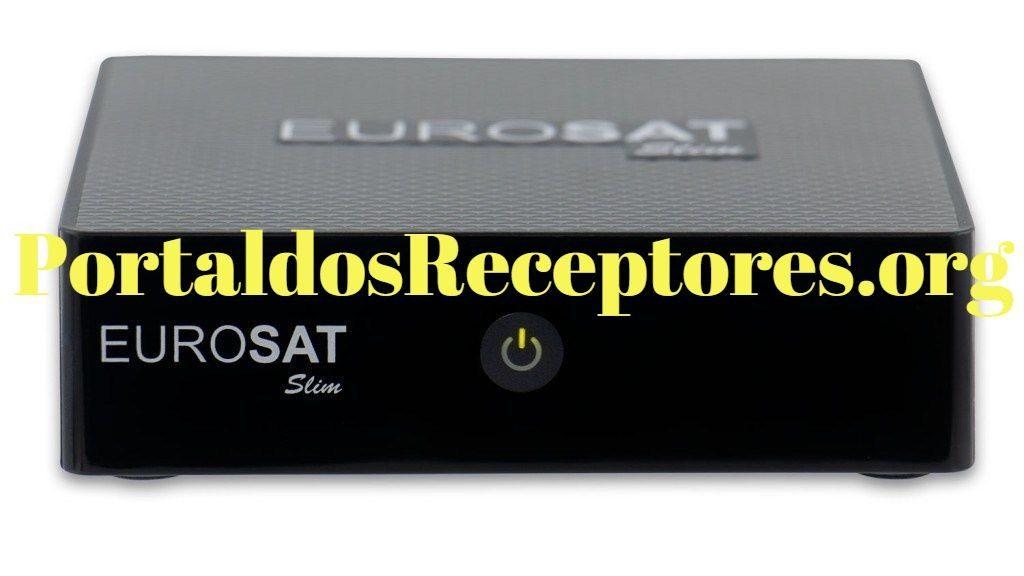 Atualização Eurosat Slim ativando todos os Canais