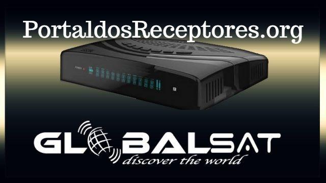 Atualização Nova Globalsat GS260 V20630 Estabilizando os canais em HD