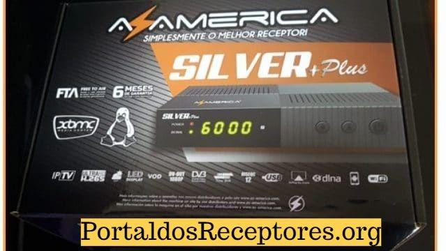 Primeira Atualização Azamerica Silver+ Plus V1.03