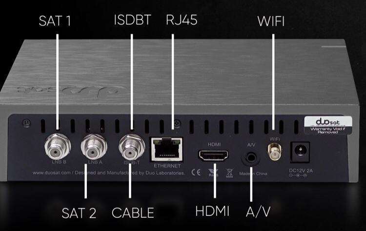 Duosat Prodigy S O novo receptor no mercado