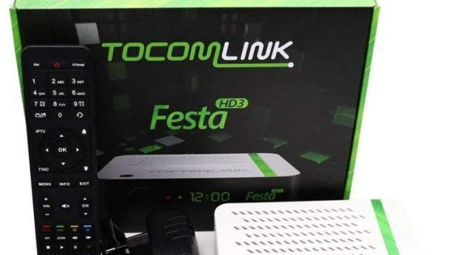 Atualização Tocomlink Festa HD 3