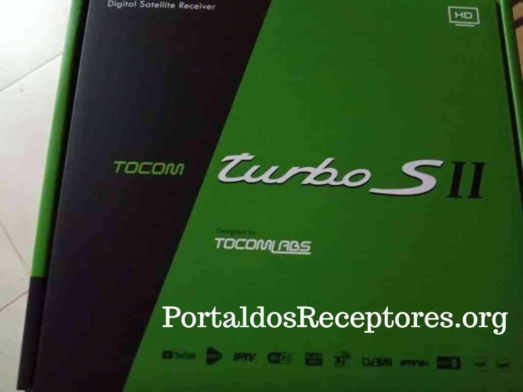 Nova Atualização Tocomsat Turbo S II