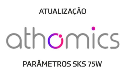 ATUALIZAÇÃO ATHOMICS DOS PARÂMETROS