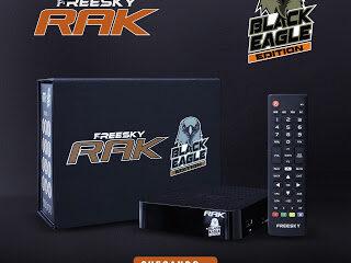 Atualização Freesky Rak Black Eagle