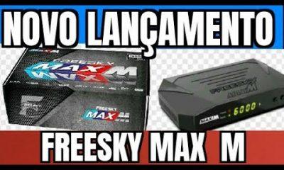 Atualização Freesky Max M