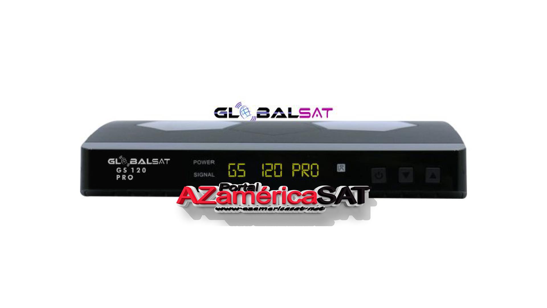 Atualização Globalsat GS 120 Pro - portal